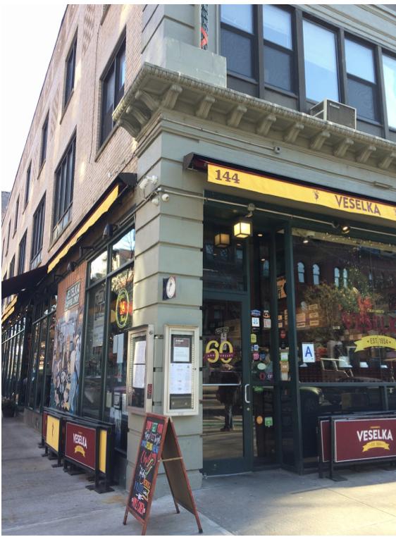 Veselka+Restaurant+Review