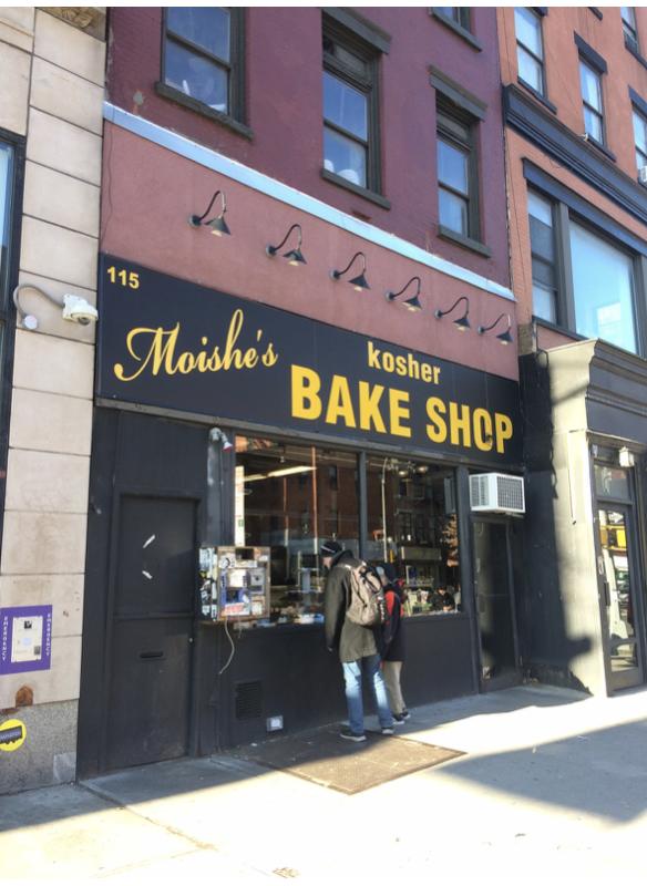 Moishe's Kosher Bake Shop Restaurant Review