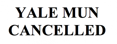 Cancellation of Yale MUN Conference Due to the Flu Virus