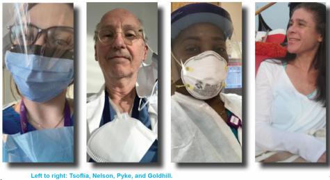 UNIS Heroes on the Pandemic Frontlines, In Their own Words